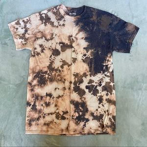 Bleach Tie Dyed Gildan Medium Tshirt